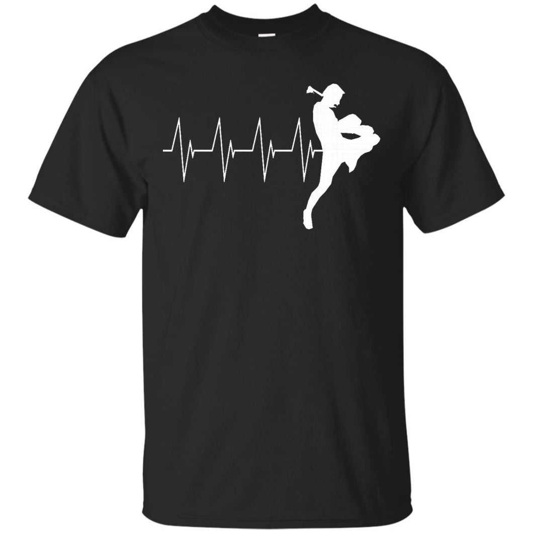 MUAY THAI HEARTBEAT T-SHIRT Thai Boxing T-Shirt