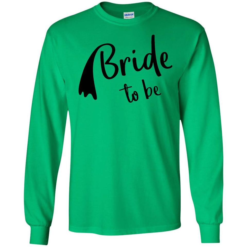 Womens Bride to be Veil Shirts for Bridal Party - Wedding T Shirt - Newmeup