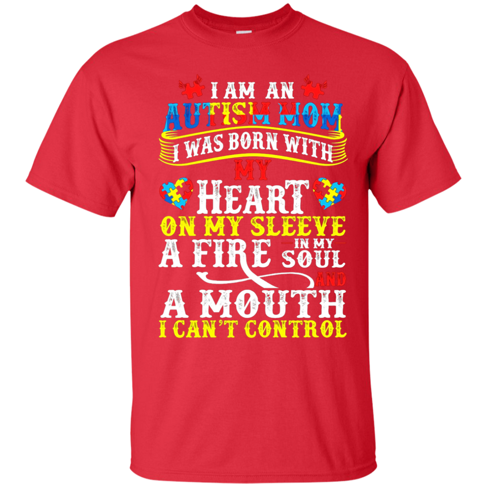 Autism Mom Shirts - Autism Awareness T-shirts - Newmeup
