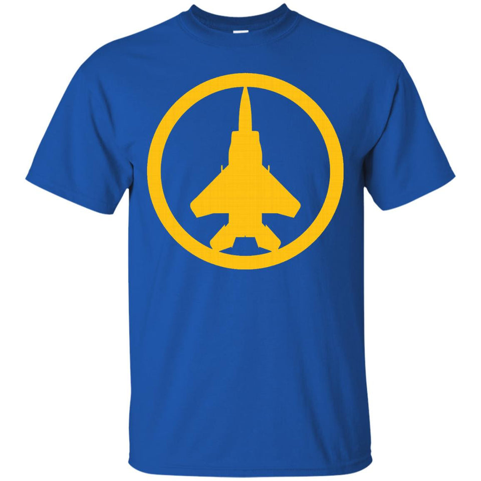F-15 Strike Eagle (Yellow) USAF Air Supremacy Jet T-Shirt - Newmeup