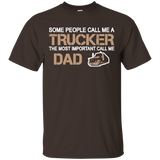 Trucker T-shirt - Trucker Dad - Newmeup