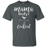 Women's Mama Needs a Cocktail t-shirt - Newmeup