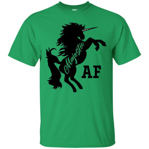 Majestic AF Unicorn Magical Team Real Magic Funny T-Shirt