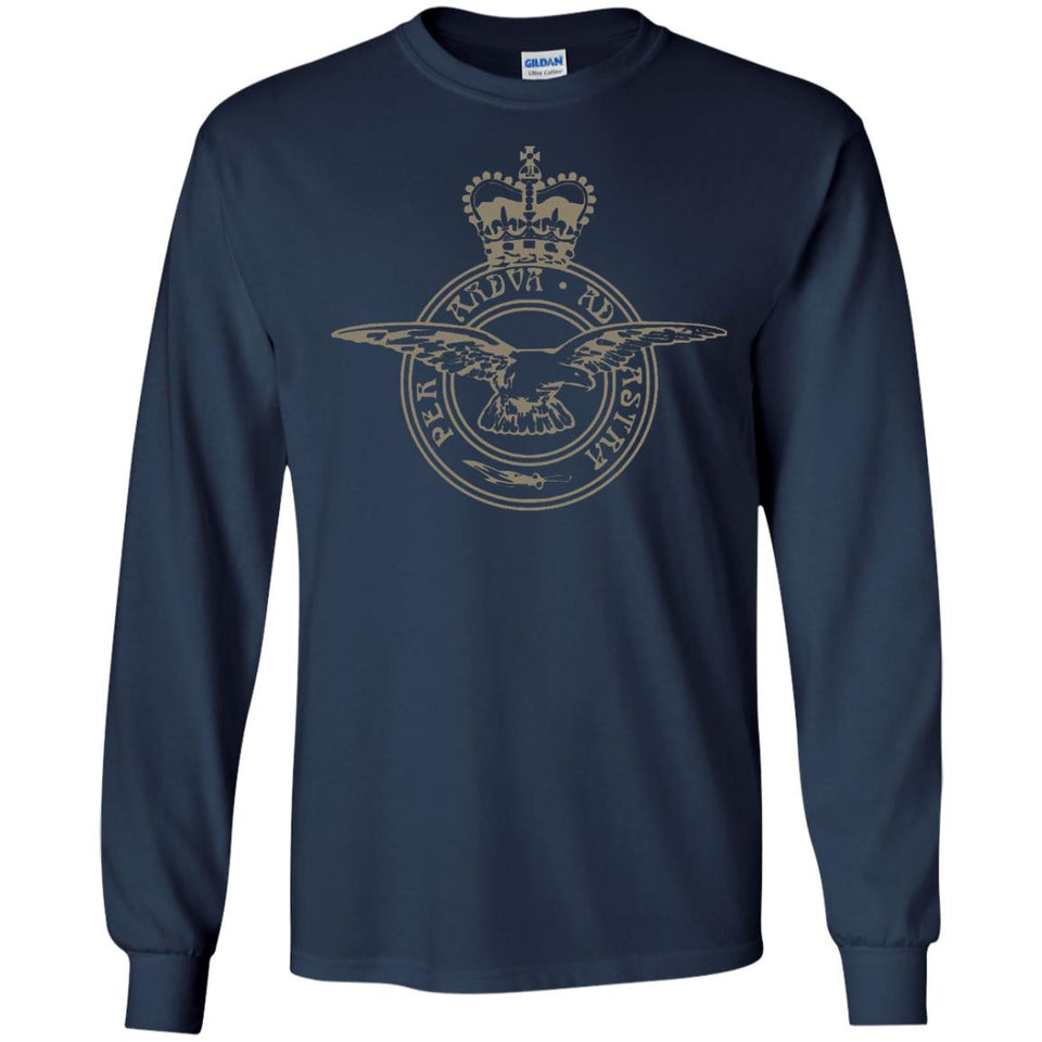 Royal Air Force badge per ardua ad astra t-shirt