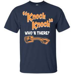 Knock Knock Who's There Funny shirt for Diesel Mechanic