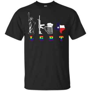 LGBT LGBT LGBT Ladies T-Shirt