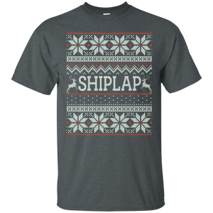 Shiplap Christmas Sweater - Ugly Sweater Tshirt