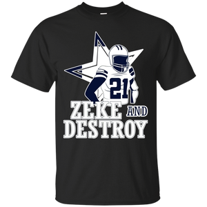 Zeke and Destroy T-Shirt - Newmeup