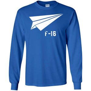 Military Aircraft F-16 Falcon Pilot Gifts Origami Shirt USAF