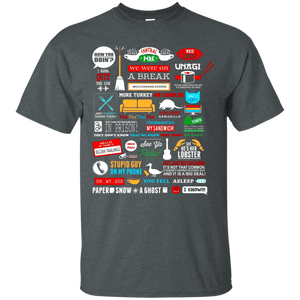 Central Perk TShirts You fell asleep I Know Friends Quotes - Newmeup