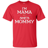 I'm Mama, She's Mommy Lesbian Mother's Day T-Shirt