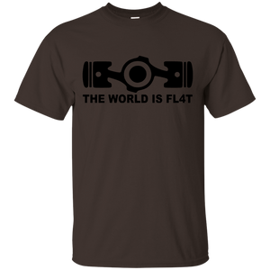 The World Is Flat, Auto Racing Motorsports T-Shirt