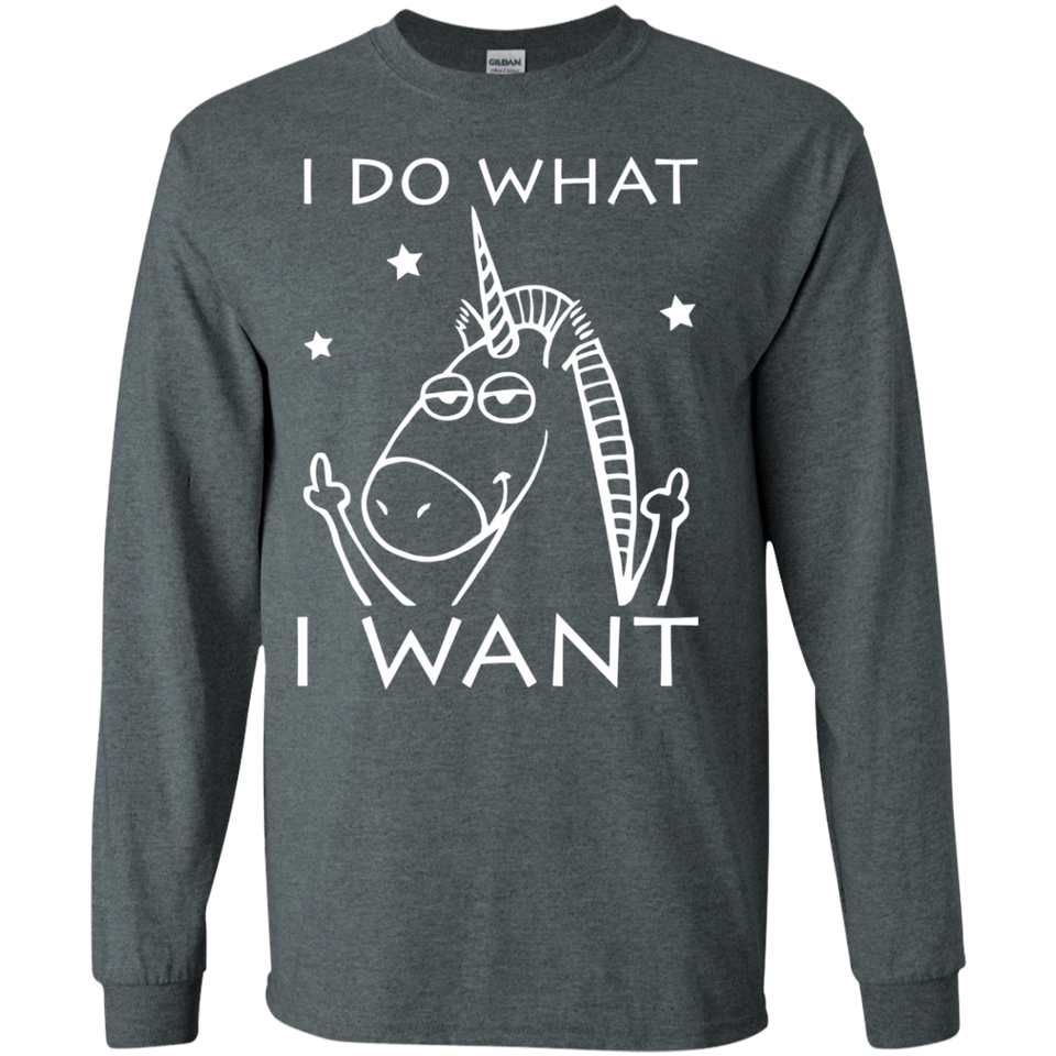 Bads Unicorn T-shirt I Do What I Want SWEATSHIRT - Newmeup