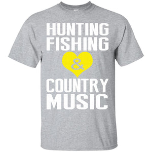 Hunting fishing t-shirt