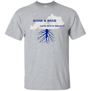 Kentucky Pride Shirt Born and Bred These Roots Run Deep