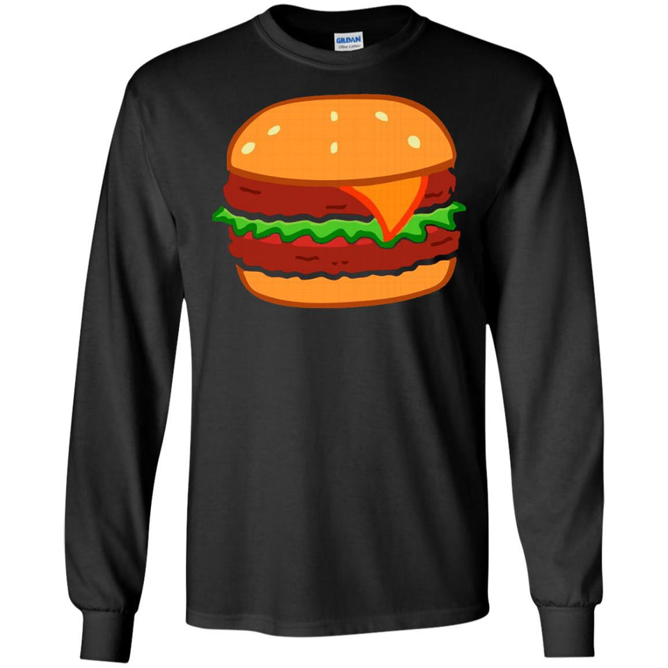 Chesseburger Shirt - Hamburger Bun Cheese BBQ - Newmeup