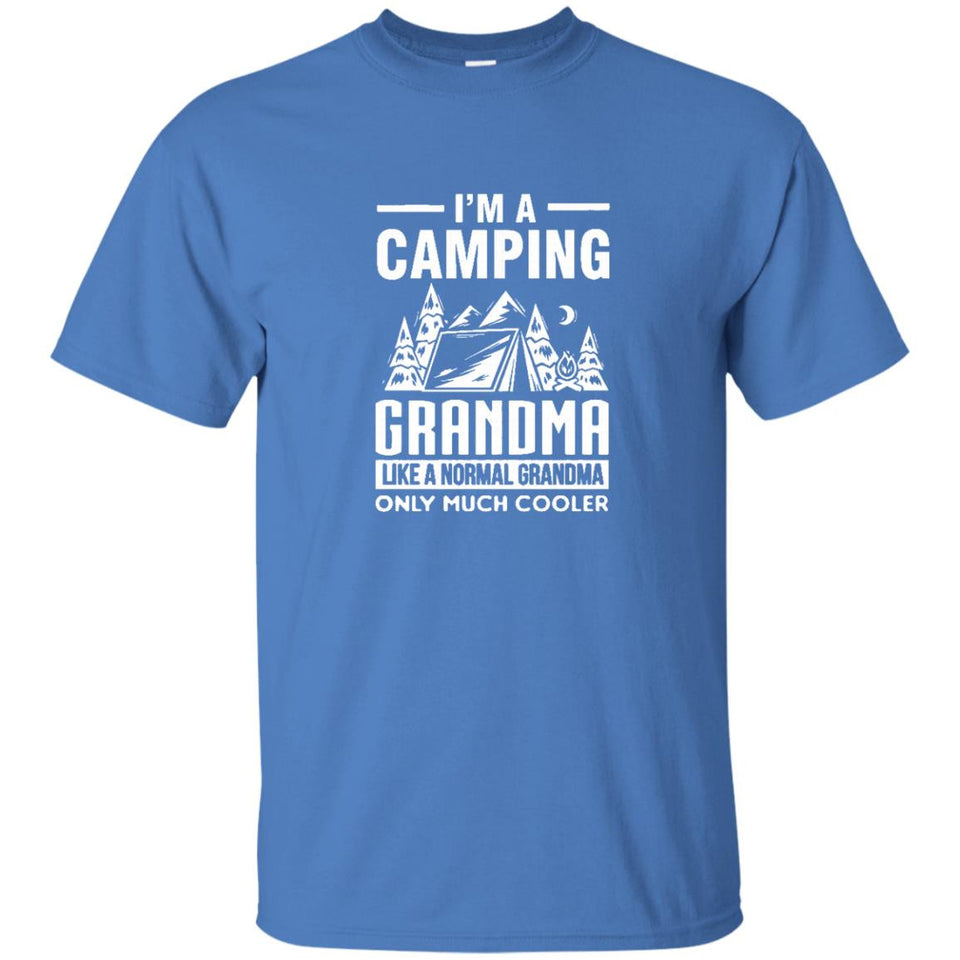 Camping shirt Camping Grandma Only Much Cooler T-Shirt - Newmeup