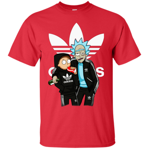 Rick And Morty Adidas Funny T Shirt