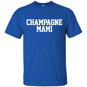 Champagne Mami Mom Mama Love Family Support Tee - Newmeup