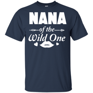 Nana Of The Wild One 100% Cotton T-Shirt