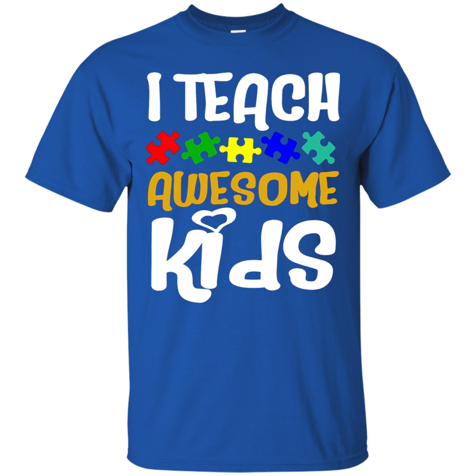 Autism Awareness Special Education Teacher T-Shirt Gift Tee - Newmeup