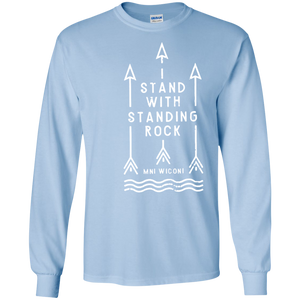 Stand With Standing Rock Water Is Life MNI WICONI SWEATSHIRT - newmeup