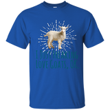 I Just Freaking Love Goats Ok Funny Goat Lovers T-Shirt Tee