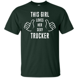 This Girl Loves Her Sexy Trucker T-shirt - Newmeup