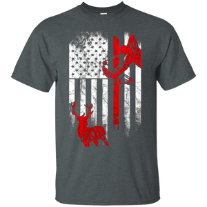 Bow Hunting Flag - Limited Edition Deer Hunting T Shirts - Newmeup