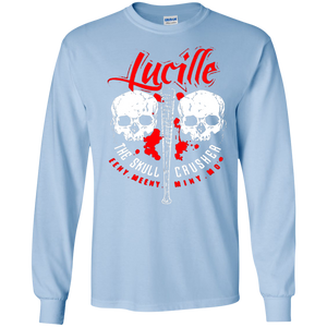 Lucille Skull Crusher T-Shirt Walking The Dead SWEATSHIRT - newmeup