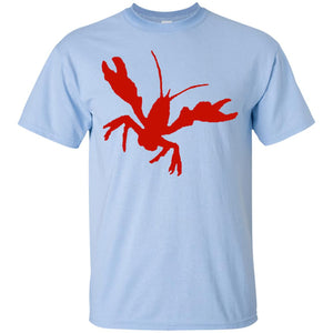 Front and Back Summer Seafood Crab Crawfish Boil T-Shirt