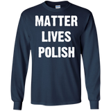 MATTER LIVES POLISH SWEATSHIRT - Newmeup