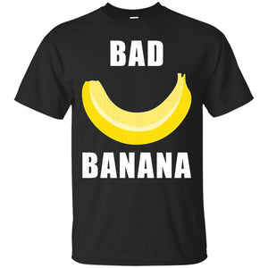 Bad Banana T-Shirt with Shiny Yellow Peel for Men and Women - Newmeup