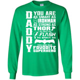 Best Dad Ever Shirt,Gift For Dad,Gift for him,My Super Dad - Newmeup