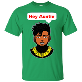Erik Killmonger Hey Auntie Wakanda Forever Marvel Black Panther Shirt