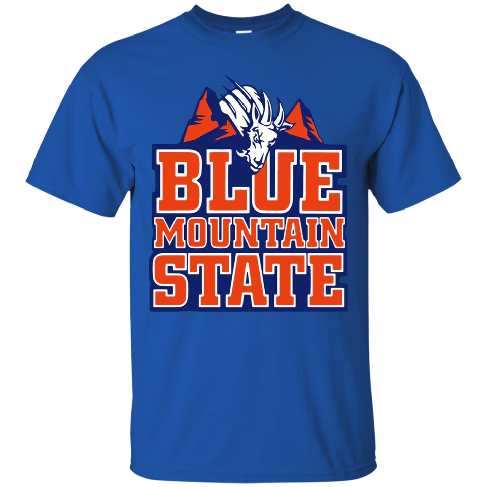 Blue Mountain State T-shirts - Goat house logo t-shirt - Newmeup