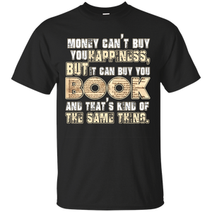 NewmeUp Men's Book Shirts Money Can Buy You Books T-Shirt