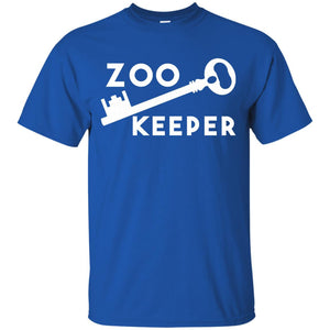 Zookeeper Key Animals Lions Pets Love Exhibits Zoos T-Shirt - Newmeup