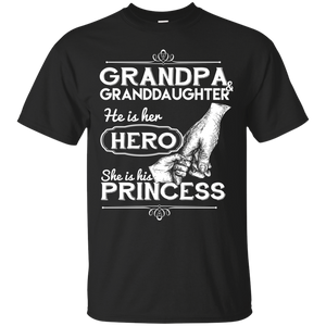 Men's Grandpa And Granddaughter Best Friends For Life T-Shirt