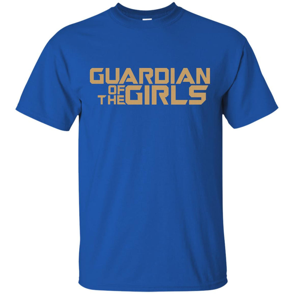 Daddy Guardian Of The Girls, Fathers Day Dad T-Shirt - Newmeup