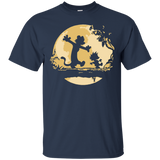 Cal-vin and Ho-bbes Halloween T-shirt - Newmeup