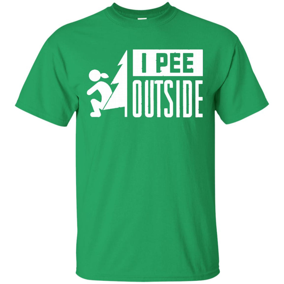 I Pee Outside T-Shirt