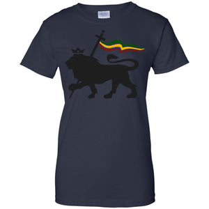 Lion of Judah Rasta Reggae Roots Clothing T Shirt Tee King