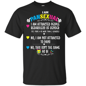 Pansexual Definition Shirt - Funny Gay Pride LGBT