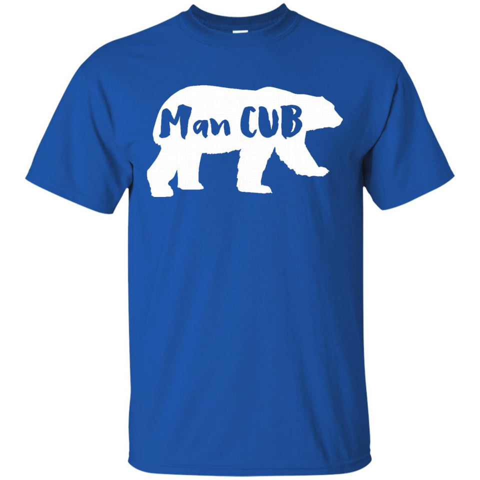 Man CUB Bear t shirt Mama and Papa Bear - Newmeup