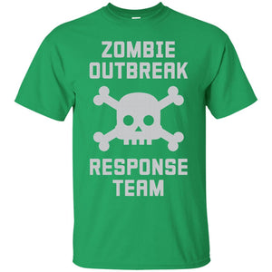 Zombie Outbreak Response Team Shirt - Newmeup