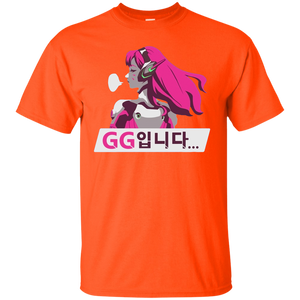 Overwatch DVa GG Spray Tee Shirt