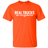 Trucker T-shirt - Real Trucks Don't Have Spark Plugs - Newmeup