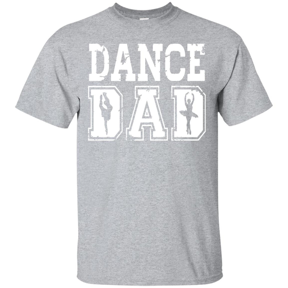 Distressed Dance Dad Ballet T-Shirt Great Gift for Men - Newmeup