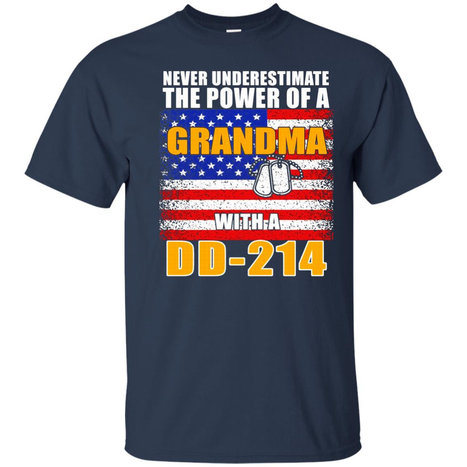 Never Underestimate The Power Of A Grandma With A DD-214